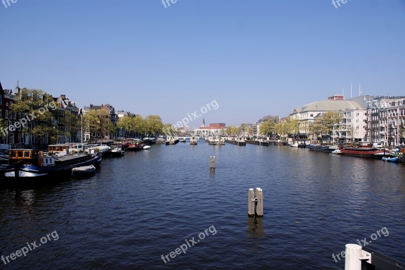 Amsterdam Canals City Dutch Water