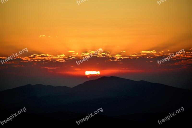 Gundogmus Nature Morning Horizon Sky