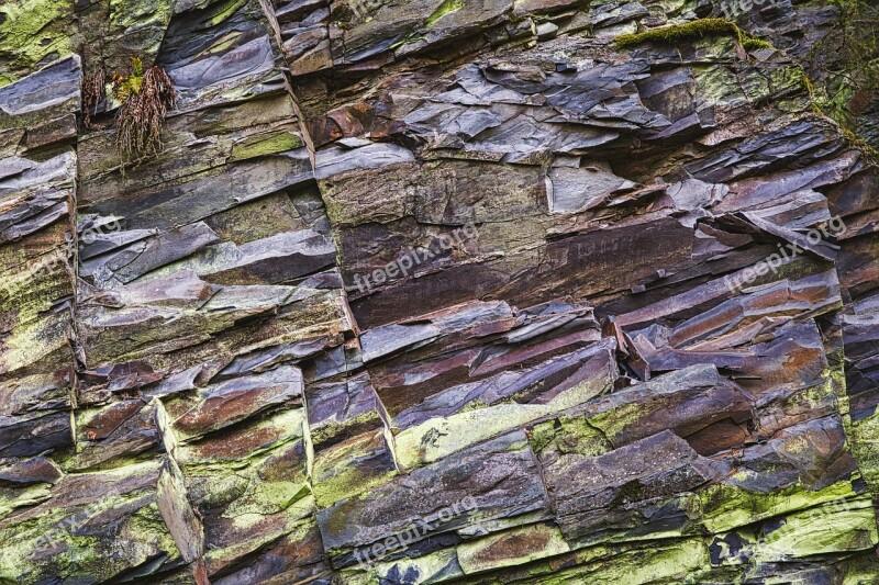 Slate Rock Texture Pattern Nature