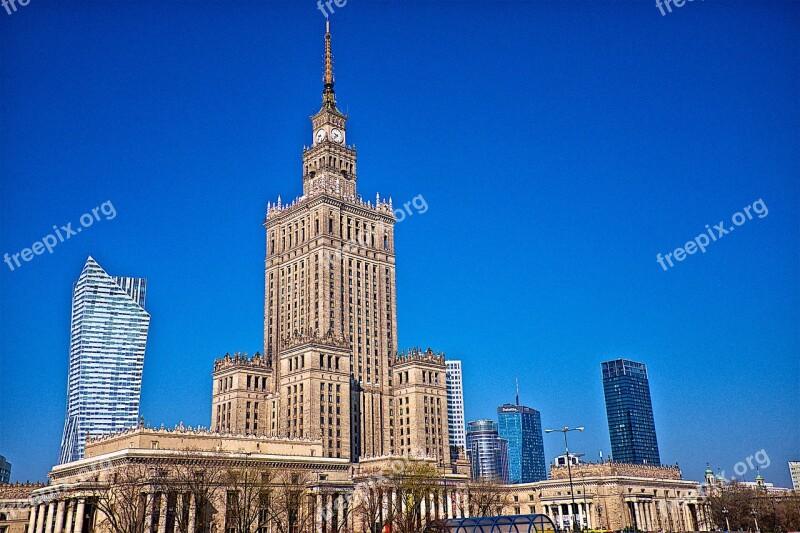 Warsaw Building Architecture City Poland